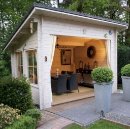 Awesome garden shed design ideas 45