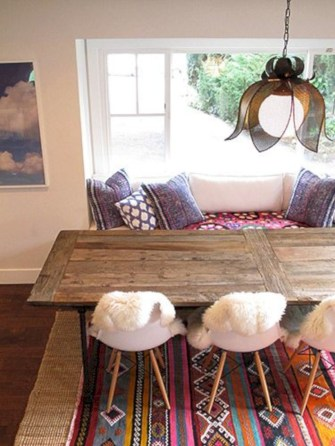 Awesome mid century modern dining room table decor ideas 11