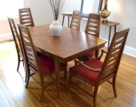 Awesome mid century modern dining room table decor ideas 29