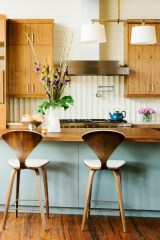 Awesome mid century modern dining room table decor ideas 31