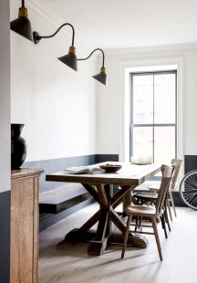 Awesome mid century modern dining room table decor ideas 35