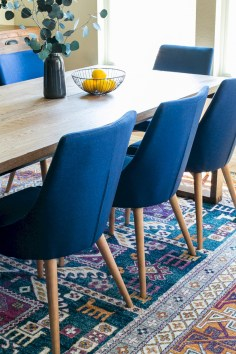 Awesome mid century modern dining room table decor ideas 36