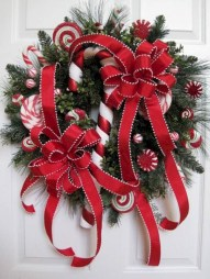 Awesome valentine wreaths ideas for your front door 09
