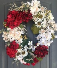 Awesome valentine wreaths ideas for your front door 13