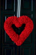 Awesome valentine wreaths ideas for your front door 17