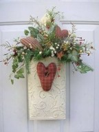 Awesome valentine wreaths ideas for your front door 30