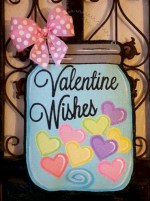 Awesome valentine wreaths ideas for your front door 40