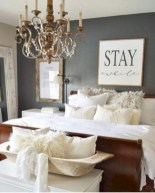 Beautiful farmhouse master bedroom decorating ideas 22