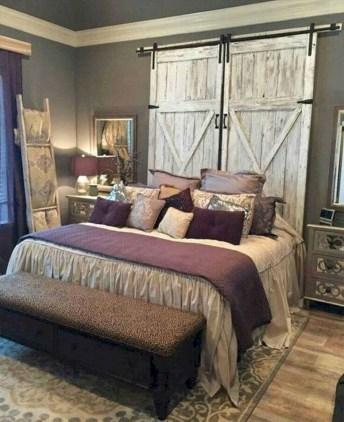 Beautiful farmhouse master bedroom decorating ideas 42