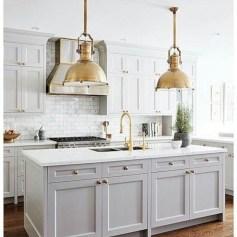 Beautiful gray kitchen cabinet design ideas 12