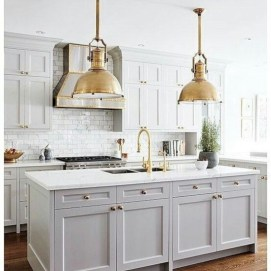 Beautiful gray kitchen cabinet design ideas 12