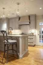 Beautiful gray kitchen cabinet design ideas 21