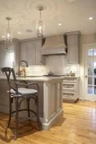 Beautiful gray kitchen cabinet design ideas 21