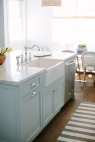 Beautiful gray kitchen cabinet design ideas 40