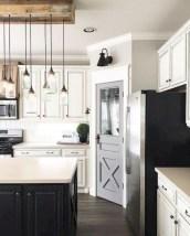 Beautiful gray kitchen cabinet design ideas 43