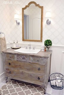 Best bathroom vanity ideas you should have at home (39)