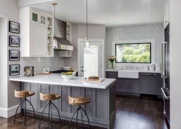 Best small kitchen remodel design ideas 15