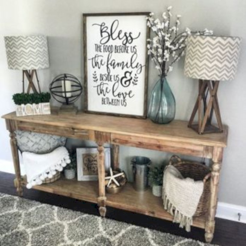 Best tips to makes farmhouse decoration style easily (32)