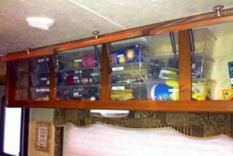 Brilliant rv storage ideas organization ideas (22)
