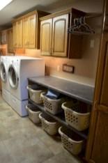 Brilliant small laundry room storage organization ideas on a budget 25
