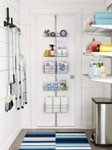 Brilliant small laundry room storage organization ideas on a budget 33