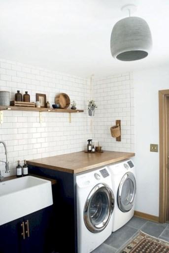 Brilliant small laundry room storage organization ideas on a budget 34