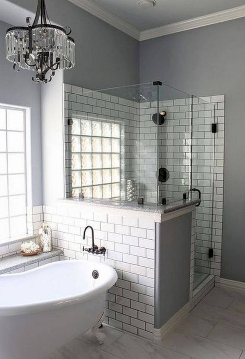 Captivating small farmhouse bathrooms decoration ideas (14)
