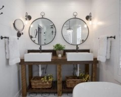 Captivating small farmhouse bathrooms decoration ideas (16)