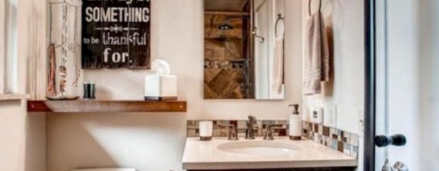 Captivating small farmhouse bathrooms decoration ideas (41)