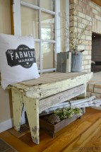 Catchy farmhouse rustic entryway decor ideas 15