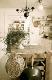 Classic shabby chic vintage kitchens design decor (28)
