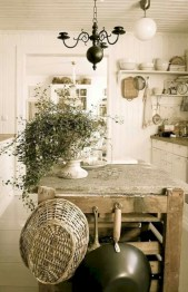 Classic shabby chic vintage kitchens design decor (28)