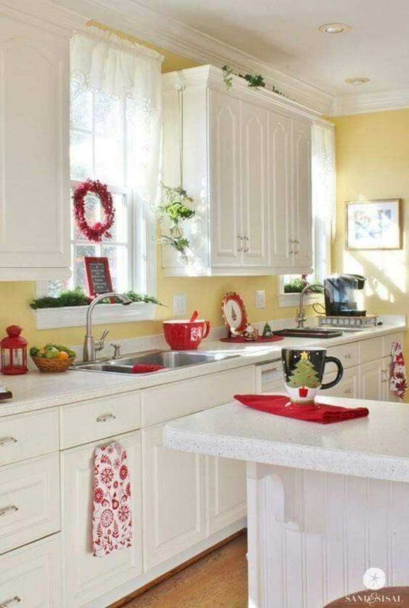 Classic shabby chic vintage kitchens design decor (36)
