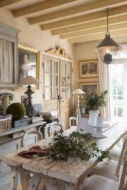 Classic shabby chic vintage kitchens design decor (46)