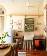 Classic shabby chic vintage kitchens design decor (7)