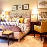Comfy grey yellow bedrooms decorating ideas (22)