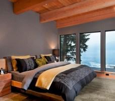 Comfy grey yellow bedrooms decorating ideas (30)
