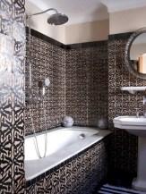 Cool modern geometric concept bathroom designs ideas (11)
