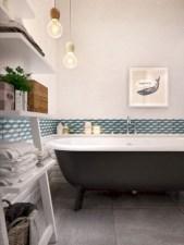 Cool modern geometric concept bathroom designs ideas (16)