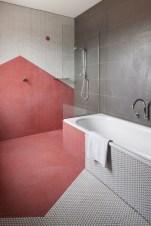 Cool modern geometric concept bathroom designs ideas (28)