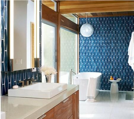 Cool modern geometric concept bathroom designs ideas (31)
