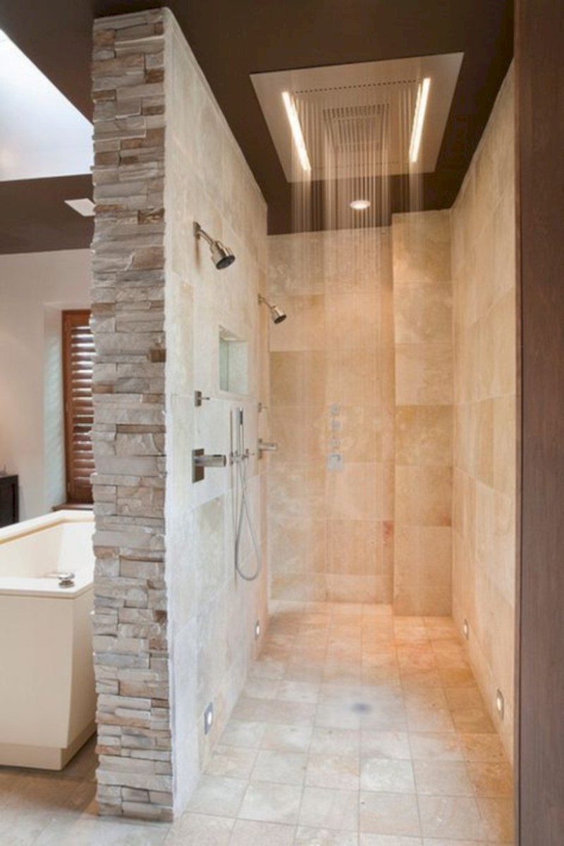 Cool modern geometric concept bathroom designs ideas (32)