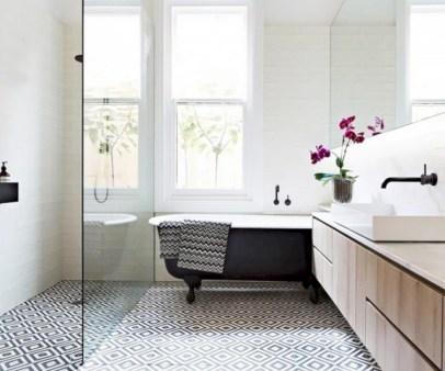 Cool modern geometric concept bathroom designs ideas (37)