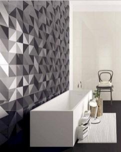 Cool modern geometric concept bathroom designs ideas (41)