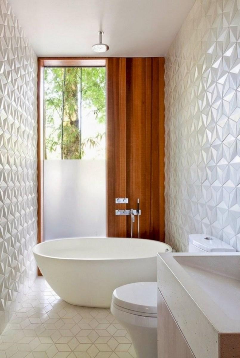 Cool modern geometric concept bathroom designs ideas (43)
