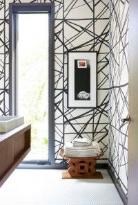 Cool modern geometric concept bathroom designs ideas (6)