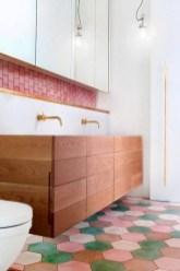 Cool modern geometric concept bathroom designs ideas (8)