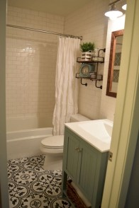 Cool small bathroom remodel inspirations ideas 26