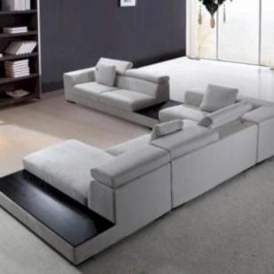 41 Cozy Modern Modular Sectional Sofas Design Ideas - ROUNDECOR