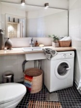 Cozy small scandinavian bathroom design ideas (1)